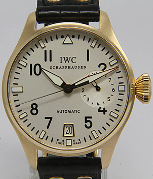IWC Aviator watch Ref. 5004 year 2008 Gents Watches | Meertz World of Time