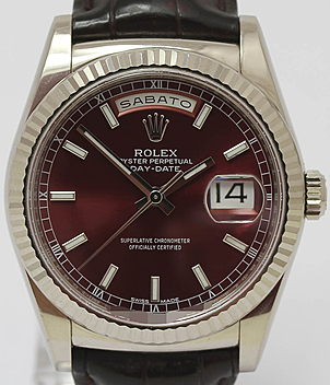 Rolex Day Date Ref. 118139 year 2013 Gents Watches, Ladies Watches | Meertz World of Time