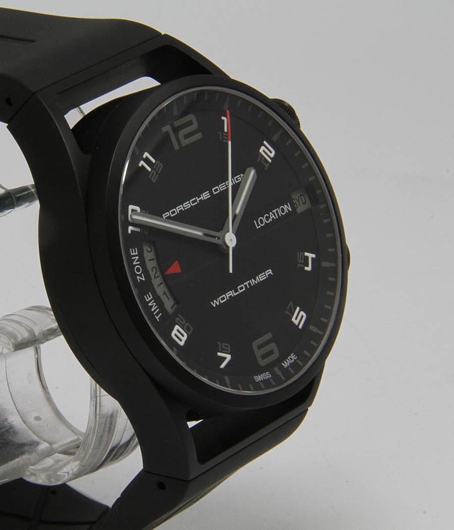 Porsche Design Worldtimer Ref 6750 Jahr 2009 Meertz