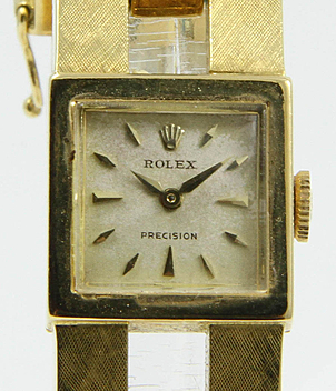 Rolex Vintage Precision year ca. 1950 Gents Watches, Ladies Watches | Meertz World of Time
