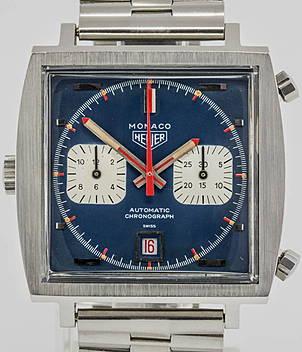 Heuer Monaco Ref. 1133 B Jahr ca.1971 Herrenuhren, Vintage | Meertz World of Time