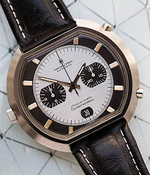 Hamilton chrono-matic Ref. 11001-3 Jahr ca. 1972 Herrenuhren, Vintage | Meertz World of Time