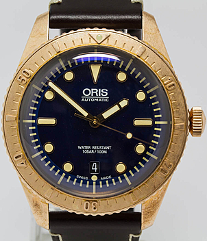 Oris Carl Brashear Ref. 733 7720 3185 Jahr 2016 Herrenuhren | Meertz World of Time