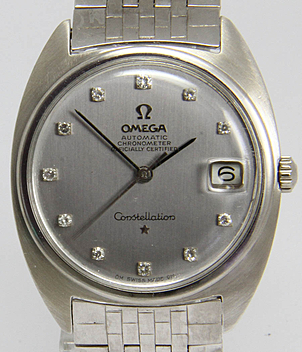 Omega Constellation Ref. 168009 year 1966 Gents Watches, Vintage | Meertz World of Time