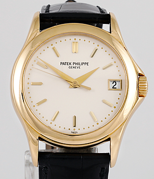 Patek Philippe Calatrava Ref. 5107J-001 Jahr 2004 Herrenuhren | Meertz World of Time