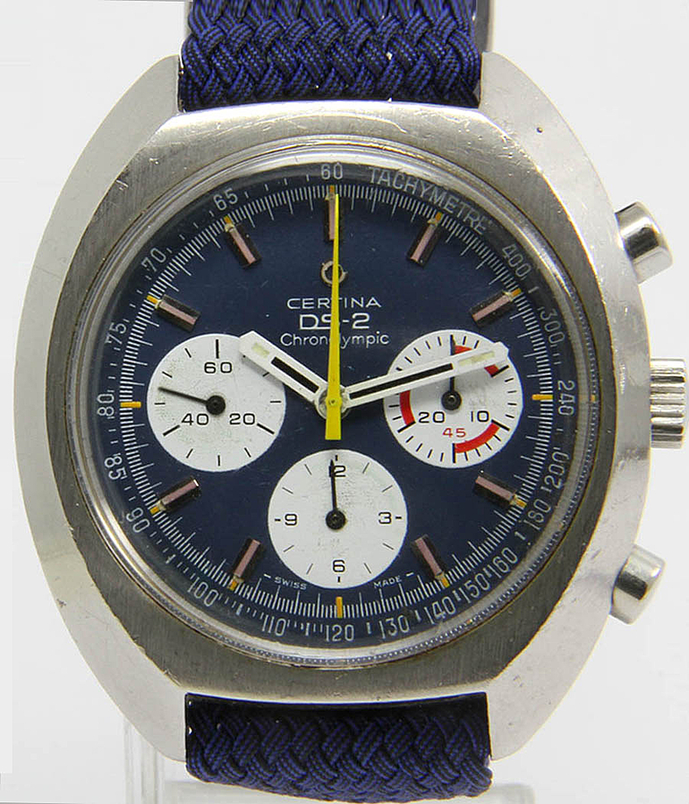 Certina Chronolympic RefId 8501800 year 1975 Gents Watches, Vintage | Meertz World of Time