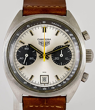 Heuer Carrera Ref. 7853 Jahr 1970 Herrenuhren, Vintage | Meertz World of Time