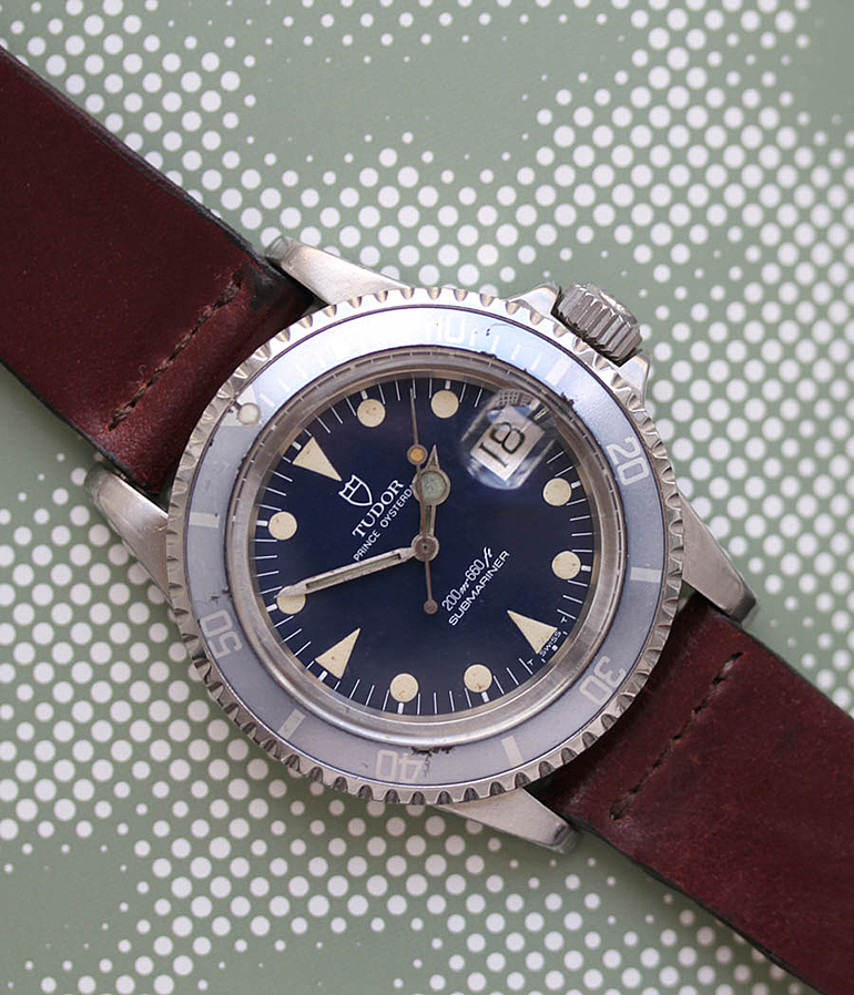 Tudor Submariner RefId 76100 year 1984 Gents Watches, Vintage | Meertz World of Time