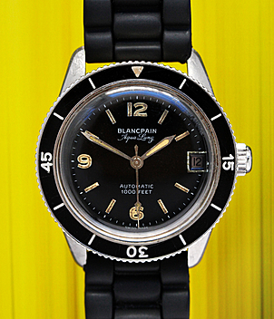 Blancpain Aqua Lung Jahr 1950s Herrenuhren, Vintage | Meertz World of Time