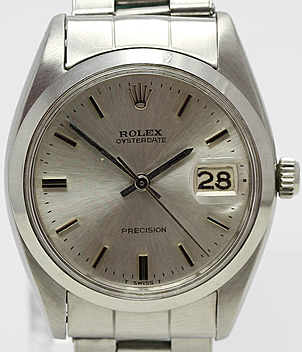 Rolex Vintage Oysterdate Ref. 6694 Jahr 1961 Herrenuhren | Meertz World of Time