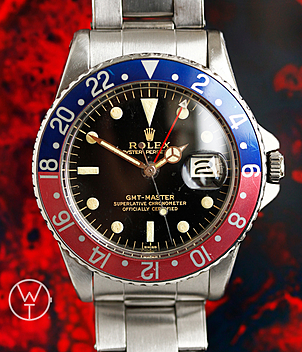 Rolex Vintage GMT Ref. 1675 year 1963 Gents Watches | Meertz World of Time