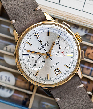 Eberhard Extra Fort year 1960 Gents Watches, Vintage | Meertz World of Time