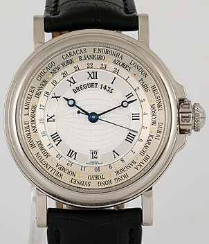 Breguet Hora Mundi Ref. 3700 year 2004 Gents Watches | Meertz World of Time