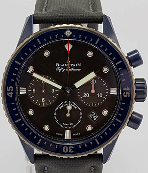 Blancpain Bathyscaphe 52000310G52A | Meertz World of Time
