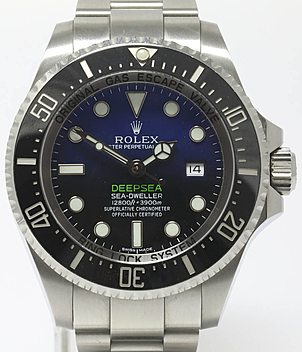Rolex Sea Dweller Deepsea 116660 Deep Blue James Cameron | Meertz World of Time
