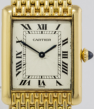 Cartier Tank Jahr 1980 Damenuhren | Meertz World of Time