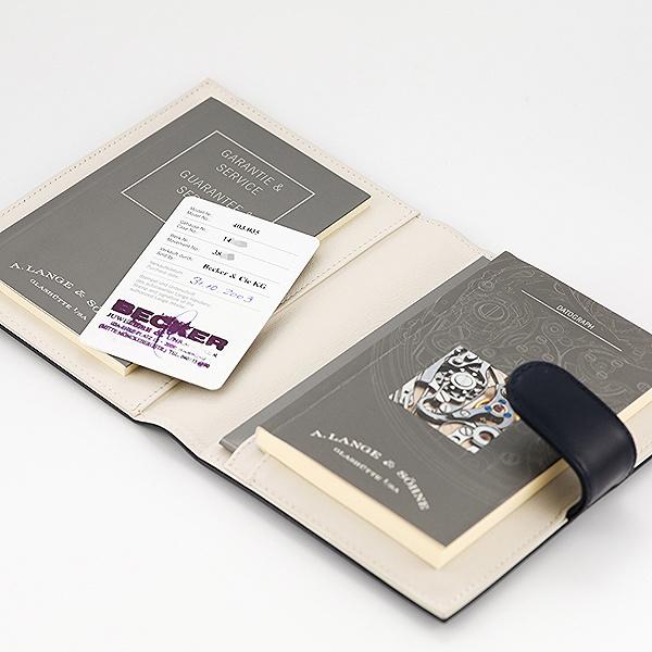 LANGE & SÖHNE Datograph Ref. 403.035