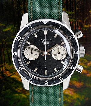 Heuer Autavia Ref. 7763 year 1968 Gents Watches | Meertz World of Time