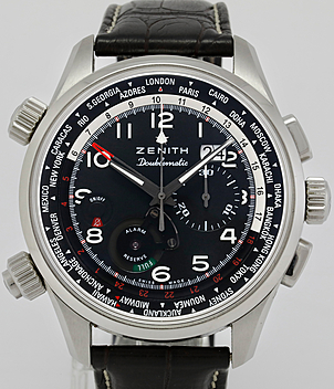 Zenith Doublematic Ref. 03.2400.4046/21.C721 year 2015 Gents Watches | Meertz World of Time