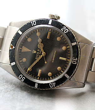 Rolex Vintage Submariner Ref. 6536 Jahr 1957 Herrenuhren | Meertz World of Time