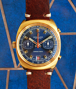 Breitling Chrono-Matic Ref. 2118 Jahr 1972 Herrenuhren, Vintage | Meertz World of Time