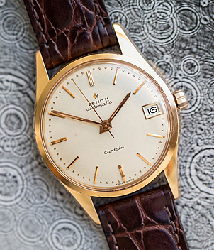 Zenith Jahr 1958 Herrenuhren, Vintage | Meertz World of Time