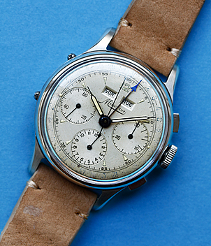 Minerva Ref. 1335 year ca. 1950 Gents Watches, Vintage | Meertz World of Time