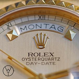 ROLEX Oysterquartz Ref. 19028