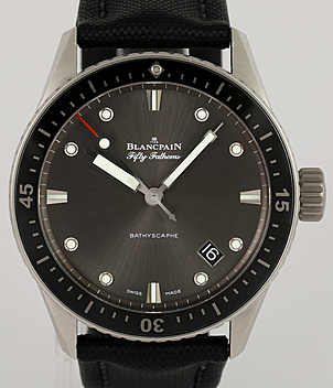 Blancpain Bathyscaphe Ref. 5000-1110 Jahr 2015 Herrenuhren | Meertz World of Time