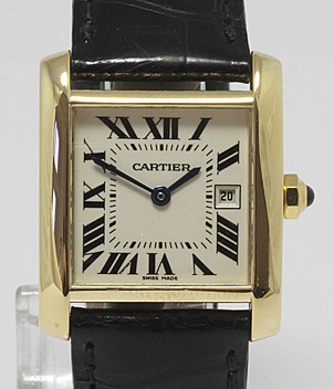 Cartier Tank Française Ref. 2466 Jahr 2005 Damenuhren | Meertz World of Time