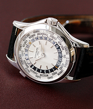 Patek Philippe Worldtimer Ref. 5110G-001 year 2002 Gents Watches, Vintage | Meertz World of Time