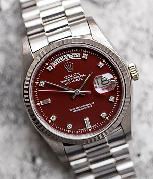 Rolex Vintage Day Date Ref. 18039 Jahr 1977 Herrenuhren, Damenuhren | Meertz World of Time