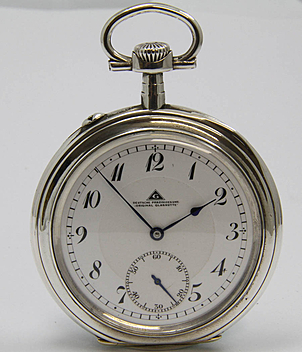 Deutsche Präzisionsuhr Glashütte  year ca. 1920 Pocket-Watches, Gents Watches | Meertz World of Time