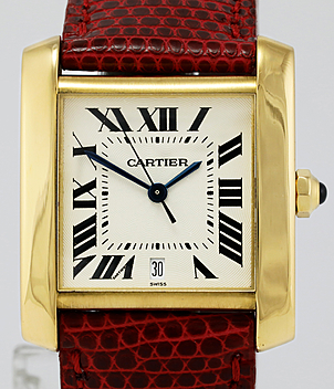 Cartier Tank Française Ref. 1840 Jahr 1996 Damenuhren | Meertz World of Time