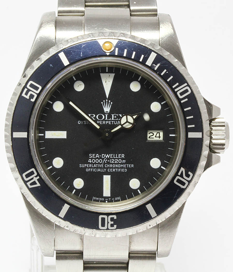 Rolex Vintage Sea Dweller RefId 16660 Jahr 1984 Herrenuhren | Meertz World of Time
