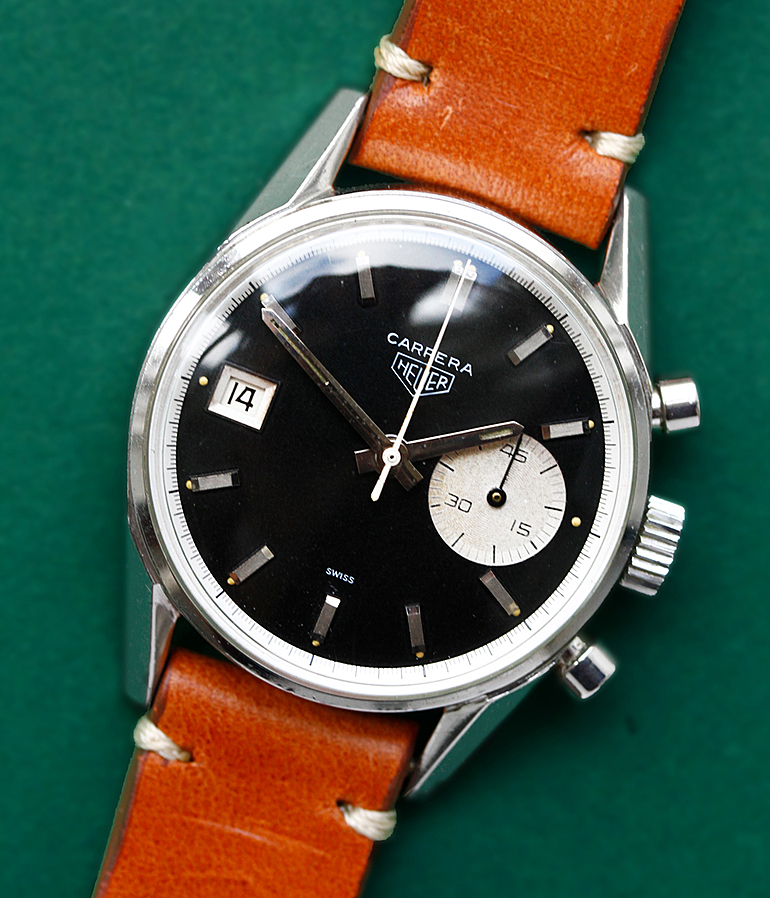 Heuer Carrera RefId 3147N Jahr 1968 Herrenuhren, Vintage | Meertz World of Time