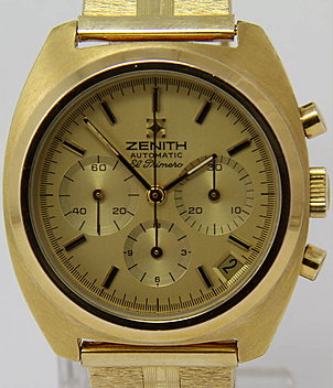 Zenith El Primero Ref. 20.0210.415 year 1973 Gents Watches, Vintage | Meertz World of Time