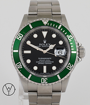 Rolex Submariner Ref. 16610 LV Gents Watches | Meertz World of Time