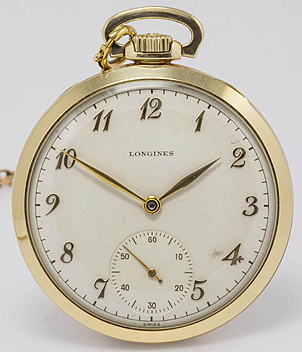 Longines Pocket watch year 1925 Pocket-Watches, Gents Watches | Meertz World of Time