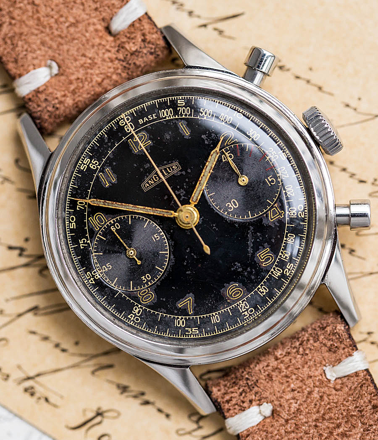Angelus year 1950 Gents Watches, Vintage | Meertz World of Time