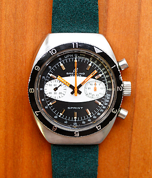 Breitling Sprint Ref. 2212 year ca. 1968 Gents Watches, Vintage | Meertz World of Time