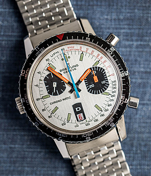 Breitling Chrono-Matic Ref. 2110-15 Jahr ca. 1970 Herrenuhren, Vintage | Meertz World of Time