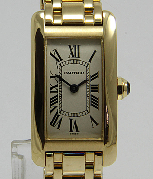 Cartier Tank Américaine Ref. 1710 Jahr 1995 Damenuhren | Meertz World of Time