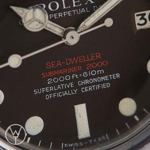 ROLEX Sea Dweller Ref. 1665
