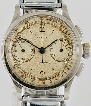 Zenith Compur year ca. 1940 Gents Watches, Vintage | Meertz World of Time
