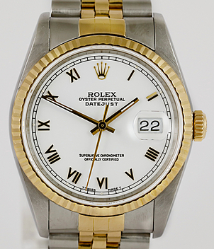Rolex Datejust Ref. 16233 Jahr 1992 Herrenuhren, Damenuhren | Meertz World of Time
