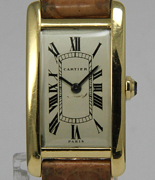 Cartier Tank Américaine year ca. 1955 Gents Watches, Vintage, Ladies Watches | Meertz World of Time