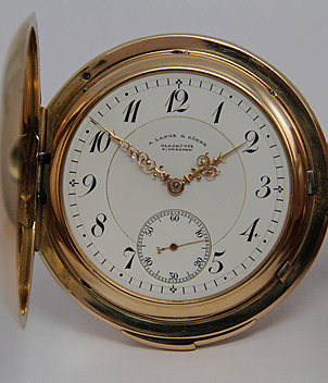 Lange & Söhne Pocket watch year 1908 Pocket-Watches, Gents Watches | Meertz World of Time